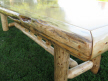 Log Dining Table Detail