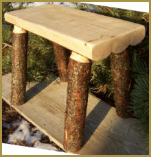 Grizzly Bench: Bark