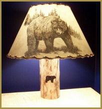 Bear Silhouette Lampshade