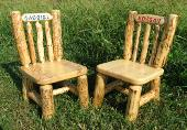 Personalized Child Chairs