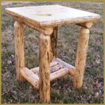 Grizzly Nightstand/End Table