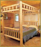 Kodiak Canopy Bed: Clean-peel