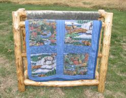 Lost Creek Quilt Rack: holds 3-5