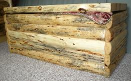 Log Cabin Hope Chest